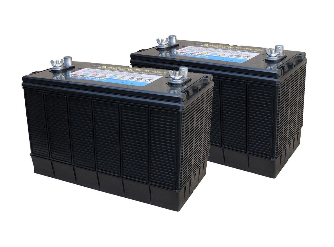 G&Yu[ジーアンドユー] 新ディープサイクルバッテリー G'cle31M-spec《お得な2個セット》(ACデルコ M31MF互換) 高品質・長寿命グレードアップ版