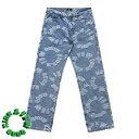 【2倍 楽天ポイント ワンダフルDAY】 A FEW GOOD KIDS AFGK アフューグッドキッズ Jeans Botoms ロゴ デニムパンツ ジーンズ ボトム LO…