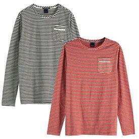 【ワンダフルDAY 20倍ポイント 1293984】 SCOTCH & SODA スコッチアンドソーダ L/S BORDER T-shirt チェストポケット長袖Tシャツ Chest Pocket T-Shirt [147879] [282-73402] トップス TOPS ボーダー アメカジ カジュアル 正規通販 オシャレ かっこいい モテる