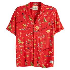 【20倍 楽天お買い物マラソン 1350051】 SCOTCH & SODA スコッチアンドソーダ S/S ALOHA SHIRTS マウイプリント半袖シャツ Maui Print Shirt Hawaii fit 148931 292-72417 トップス ストリート アメカジ カジュアル 正規通販 オシャレ かっこいい モテる