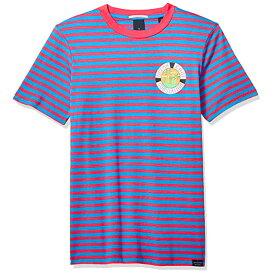 SCOTCH & SODA スコッチアンドソーダ TEE ストライプ半袖Tシャツ ボーダー Red-Purple Stripe T-Shirt 149058 292-74462 ストリート メンズファッション アメカジ カジュアル 正規通販 オシャレ かっこいい モテる 【1万円以上購入で送料無料】