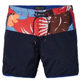 【20倍ポイント 楽天スーパーSALE 1239448】 SCOTCH & SODA scotch&soda スコッチアンドソーダ SWIM SHORTS スイムショーツ Colour block swim shorts medium length [142257] [292-58602] SHORT ハーフパンツ 水陸両用 正規通販 オシャレ かっこいい モテる