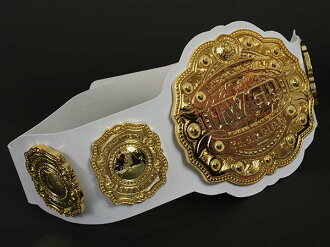 IWGP intercontinental plastic Championship belts