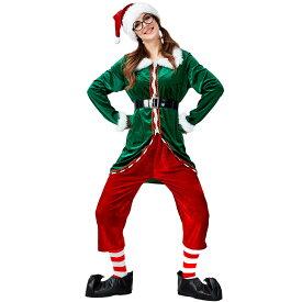 サンタ ワンピース クリスマス コスチューム サンタワンピース 緑 サンタコスプレ トナカイ ツリークリスマス仮装 クリスマス サンタ Christmas 衣装 コスプレ サンタクロース コスチューム