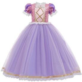 プリンセスドレス 衣装 ドレス 子供 ワンピース なりきり プリンセス 子供用 ハロウィン パーティー 子供ドレス 子供服 女の子 お姫様 ガール キッズドレス 子ども 仮装 コスプレ衣装 ハロウイン こども コス