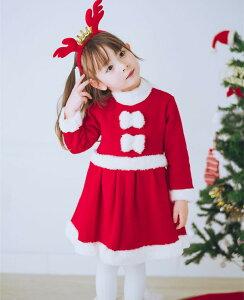 コスチューム コスプレ 衣装 キッズ ワンピース コスプレ衣装 クリスマス 子供 子供ドレス 女の子 子供服 サンタクロース クリスマスパーティー キッズこども 子ども サンタコスチューム サ