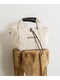 (W)RECOVERコンチョロゴトート S BAYFLOW ベイフロー バッグ トートバッグ ホワイト ネイビー[Rakuten Fashion]