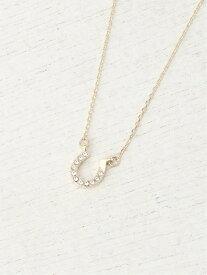 (W)キラホースシューネックレス BAYFLOW ベイフロー アクセサリー ネックレス ゴールド シルバー[Rakuten Fashion]