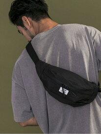 (M)2ポケットウエストBAG BAYFLOW ベイフロー バッグ ウエストポーチ ブラック ブラウン ブルー ベージュ グレー[Rakuten Fashion]