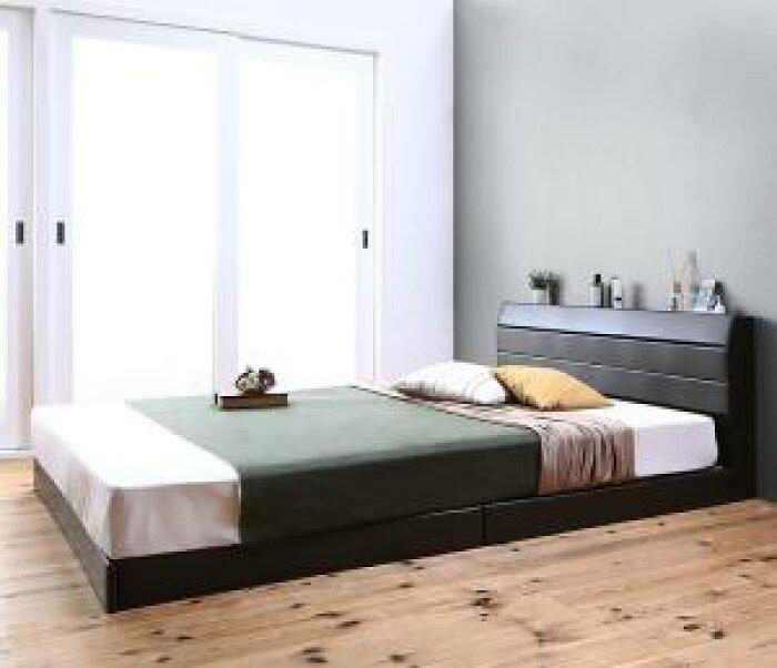 親子で寝られる棚・コンセント付きレザー連結ベッドFamilienaファミリーナラテックス入り国産ポケットコイルマットレス付きシングルサイズ
