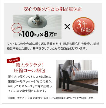 棚付き4口コンセント付きフロアベッドローベッドDouceデュースマルチラススーパースプリングマットレス付きダブル(代引不可)