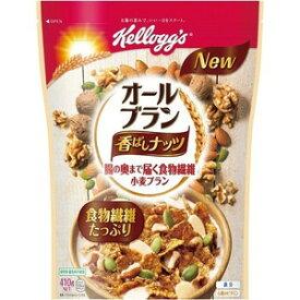 ケロッグ オールブラン 香ばしナッツ(410g) 【正規品】 ※軽減税率対商品