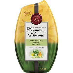 【5個セット】 お部屋の消臭力 プレミアムアロマ 消臭芳香剤 レモングラス&レモン 400mL×5個セット 【正規品】