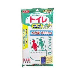 緊急時のトイレ プルプル1000 2コ入 【正規品】【mor】 【ご注文後発送までに1週間以上頂戴する場合がございます】