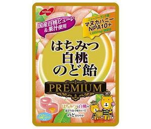 【3個セット】 ノーベル製菓 はちみつ白桃のど飴プレミアム 80g×3個セット 【正規品】 ※軽減税率対応品
