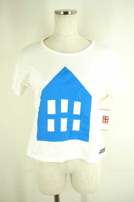 finlayson(フィンレイソン) UネックTシャツ サイズimport:M レディース プリント【中古】【ブランド古着バズストア】【260518】