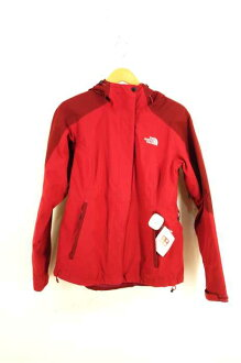 The North Face THE NORTH FACE jacket Lady's - red system JPN: S Japan size: Our S phase HYVENT water repellency processing jacket
