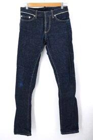 バレンシアガ BALENCIAGA デニムパンツ メンズ - 青系 28inch 5ポケットストレートデニムパンツ【中古】【ブランド古着バズストアBAZZSTORE】【250120】