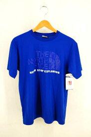 THE NORTH FACE ザノースフェイス クルーネックTシャツ メンズ - 青系 import:M 日本サイズ:M-L 相当 COLOR DOME TEE【中古】【ブランド古着バズストアBAZZSTORE】【290320】