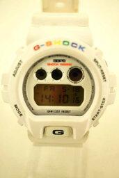 G-SHOCK×APE(G打擊×eipu)石英手錶尺寸書寫方式無人DW-6900 04AW白多重