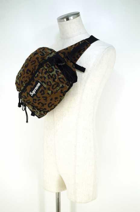 Supreme(シュプリーム) ボディバッグ サイズ[表記無] メンズ Waist Bag レオパード ウエストバッグ 【中古】【ブランド古着バズストア】【220318】