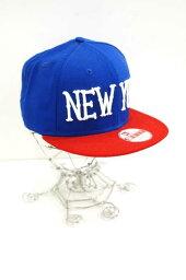 新埃拉NEW ERA蓋子帽子尺寸ONE SIZE FIT ALL人NEW YORK棒球蓋子突然彈回[中古][名牌舊衣服嗡嗡叫商店][160518]