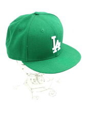 新埃拉NEW ERA蓋子帽子尺寸7 3/8男子的LA棒球蓋子[中古][名牌舊衣服嗡嗡叫商店][160518]