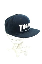 surassha THRASHER蓋子帽子尺寸書寫方式無人刺綉利奥糊塗的DOS小睡巴克[中古][名牌舊衣服嗡嗡叫商店][160518]