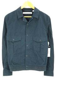 777e51dd368d ユニクロ クリストフルメール uniqlo × LEMAIRE デニムジャケット メンズ - 青系 JPN:S 裾