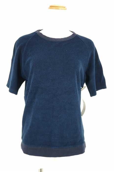 エディフィス EDIFICE クルーネックTシャツ サイズ46 レディース ラグランパイルTシャツ【中古】【ブランド古着バズストア】【060518】