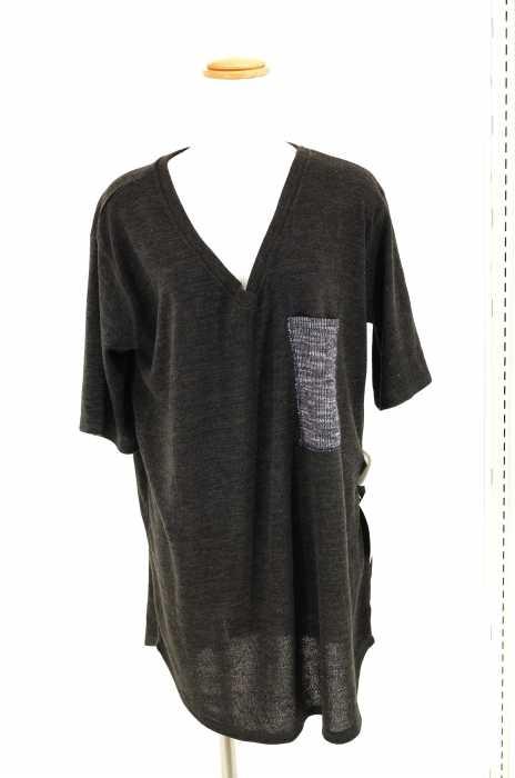 C.L.N(シーエルエヌ) VネックTシャツ サイズ[FREE] レディース - 【中古】【ブランド古着バズストア】【141017】