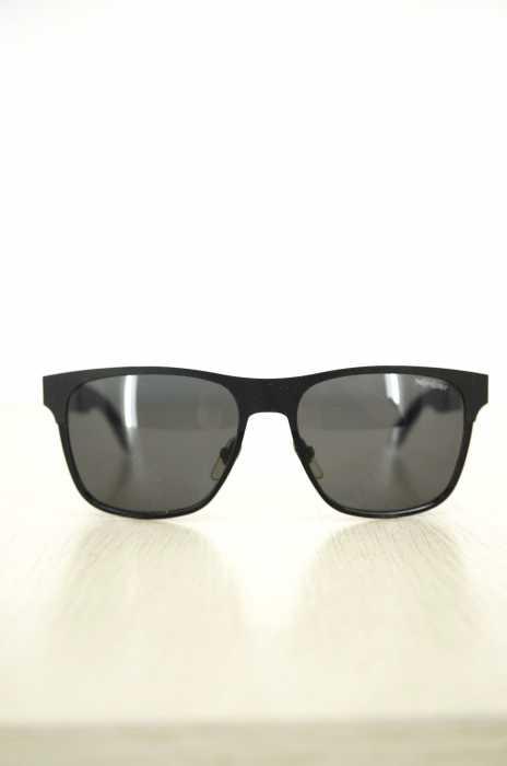 イヴサンローラン Yves Saint Laurent サングラス メンズ - 黒系 55□16 【中古】【ブランド古着バズストア】【061217】
