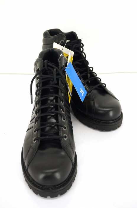 アディダス adidas ブーツ サイズJPN:27 メンズ MUHAMMAD ALI LEATHER COMBAT BOOTS モハメドアリ コンバットブーツ【中古】【ブランド古着バズストア】【260518】