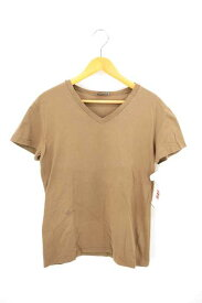 ディオールオム Dior HOMME VネックTシャツ メンズ - 茶系 import:S BEE刺繍 Vネック TEE【中古】【ブランド古着バズストアBAZZSTORE】【311218】