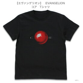 【エヴァンゲリオン】COSPA コスパ EVANGELION Tシャツ コア ブラック M/L/XL