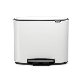 【日本正規代理店】ブラバンシア Brabantia ペダル式ゴミ箱 Bo ペダルビン 36L ホワイト 121388