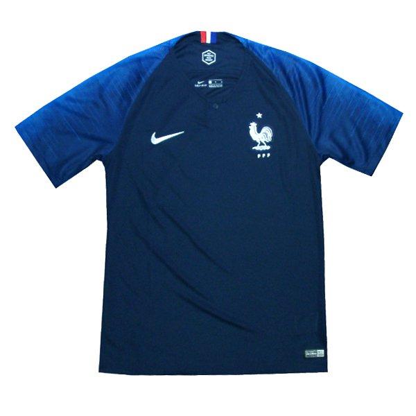 フランス代表 18 ホーム 半袖 ユニフォーム NIKE FIFAワールドカップ2018(正規品/メール便可/メーカーコード893872 451)
