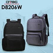 D8206Wリュックサックバックパック男女兼用旅行バッグ軽量ノートPCリュックビジネス大容量おしゃれタウンユースカワイイ人気