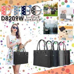 DTBGD8209Wポルカドットトートバックビジネスバッグ