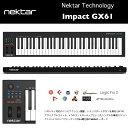 IMPACT GX61 | Nektar Technology | ネクター・テクノロジー インパクトGX61|61鍵MIDIコントローラーキーボード ベロシティ対応シン…