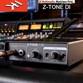 IK Multimedia | Z-TONE DI (ズィートーンディーアイ) インピーダンスを調整する Z-TONE、JFET / PURE スイッチ、ピックアップ・セレクターといった機能を搭載したアクティブDIボックス 国内正規品