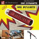 sE Electronics DM1 DYNAMITE   SEエレクトロニクス DM1 ダイナマイト   パッシブマイクから充分なレベルを得られるスリムなアクティブ…