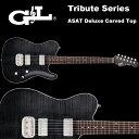 G&L Tribute Series / ASAT Deluxe Carved Top Trans Black / アサート デラックス カーブドトップ トランスブラック テレキャスター …
