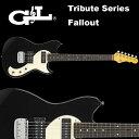 G&L Tribute Series / Fallout Gloss Black / フォールアウト グロスブラック(黒) 国内正規品 送料無料
