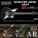 シェクター SCHECTER JAPAN / AR-07 CAR レッド 7弦 エレキギター パーフェロー指板 国内正規品 送料無料