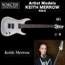 シェクター SCHECTER / KM-6 TWS | KEITH MERROW | キース メロウ 6弦 KM6 トランス・ホワイト・サテン(白) 送料無料