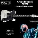 シェクター ジャパン エレキギター / ADAM (Joy Opposites) SCHECTER PA-JO/AD アーティストモデル プロゲージ テレキャスター 送料無料