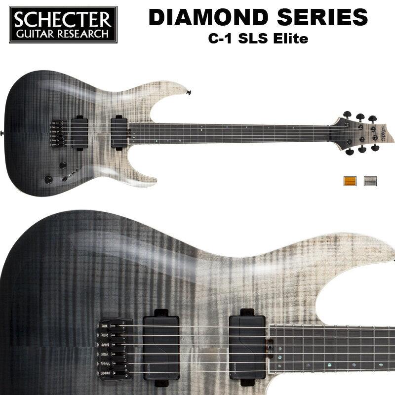 シェクター SCHECTER / C-1 SLS Elite | AD-C-1-SLS-EL | C1 SLSエリート ブラック フェイド バースト (黒) ダイヤモンドシリーズ 送料無料