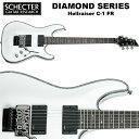 シェクター SCHECTER / Hellraiser C-1 FR WHT ホワイト(白) ヘルレイザーC1 ダイヤモンドシリーズ エレキギター 送料無料