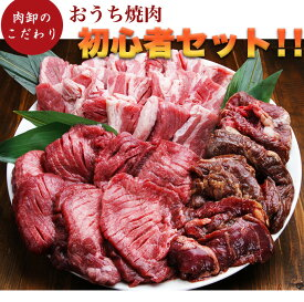 焼肉 焼肉セット タン メガ盛り 2人 2人前 約 1kg 4人 から 5人 厚切り 肉 福袋 わけあり 訳あり パーティーセット カルビ ハラミ 小分け 冷凍食品 個包装 肉卸のこだわり★おうち焼肉初心者セット(1.5kg)